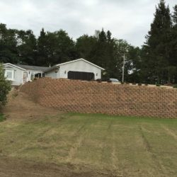 structural retaining wall